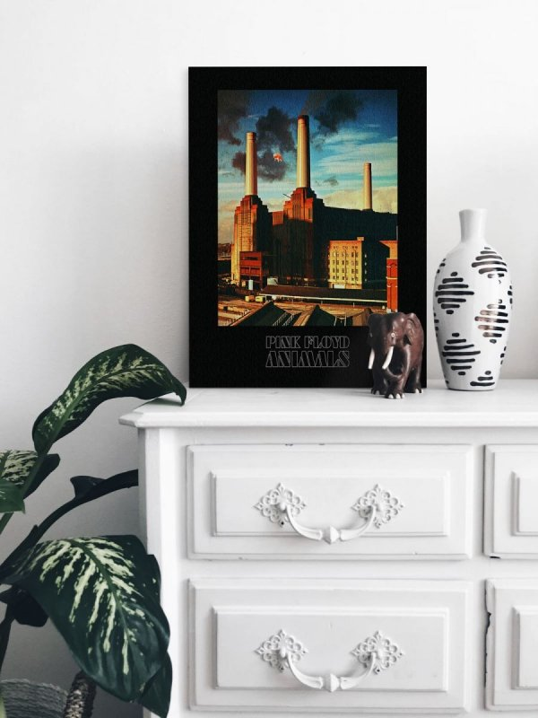 Pink Floyd Animals - obraz na płótnie