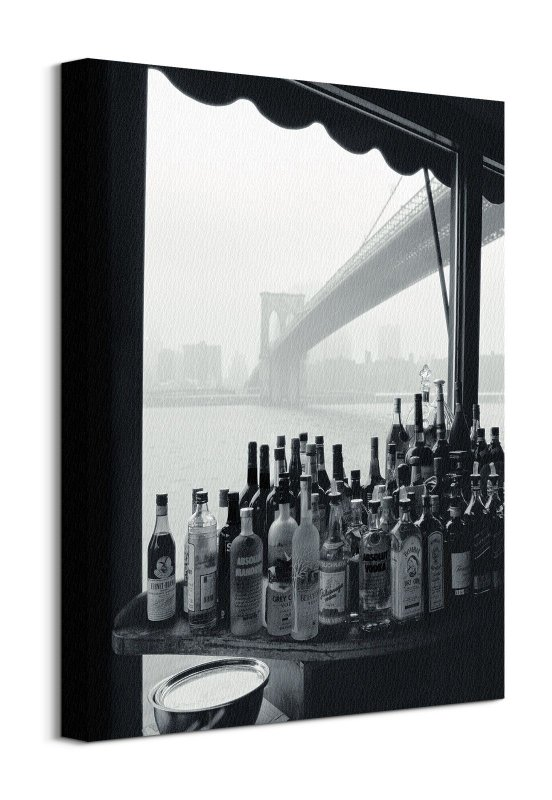 Obraz do sypialni - River Cafe New York - 40x50 cm