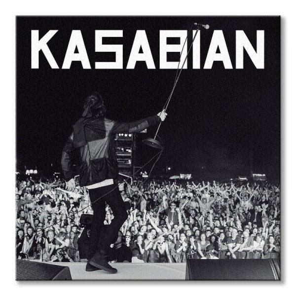 Kasabian Live - obraz na płótnie
