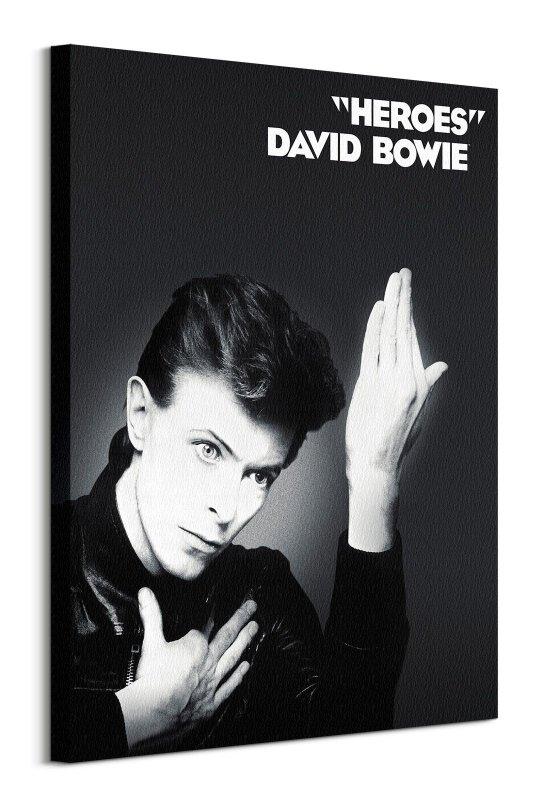 David Bowie Heroes - obraz na płótnie