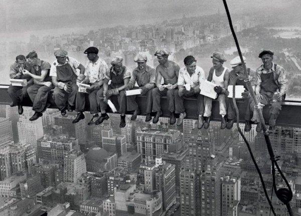 New York (robotnicy) - plakat