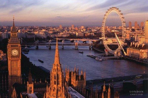 London, England - plakat