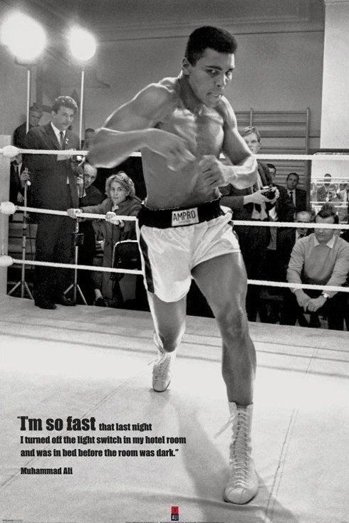 Muhammad Ali (Fast) - plakat