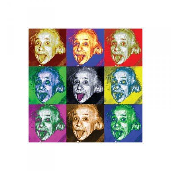 Albert Einstein (Pop Art.) - reprodukcja
