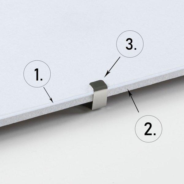 Antyrama z plexi 140x100 cm