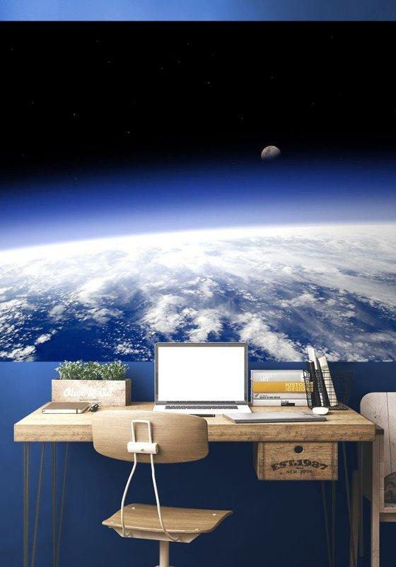 Fototapeta - Planeta Ziemia - horyzont - 175x115 cm