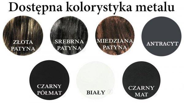 Kwietnik metalowy - Stojak na kwiaty - Sklep DecoArt24.pl