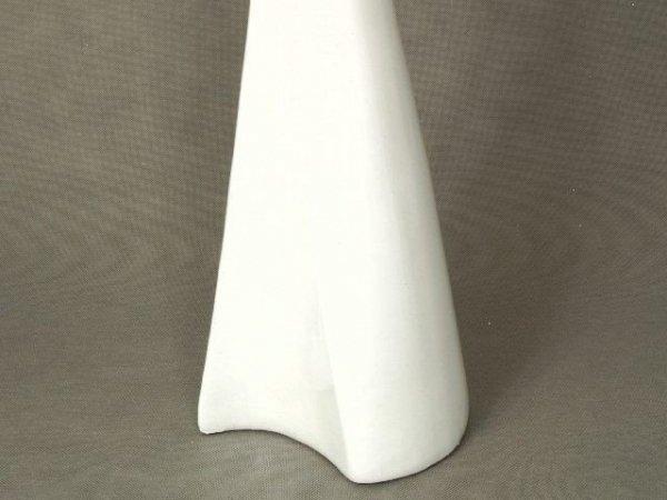 Wazon ceramiczny - Jasny Krem - 20x17x54cm