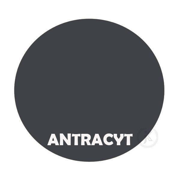 Antracyt - kolor kwietnika - Struś 2-ka - DecoArt24.pl