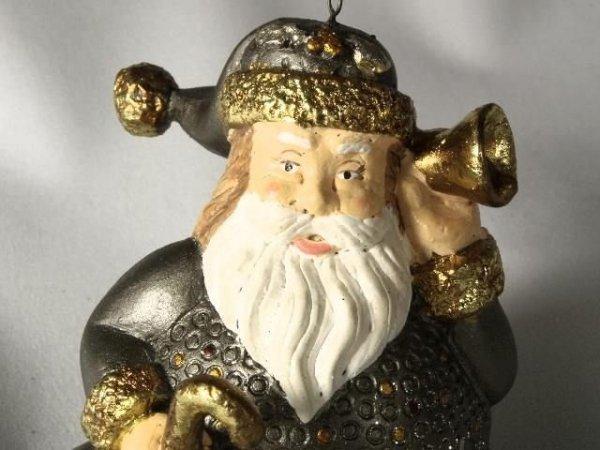 Mikołaj - 9cm - (6szt. w opakowaniu)