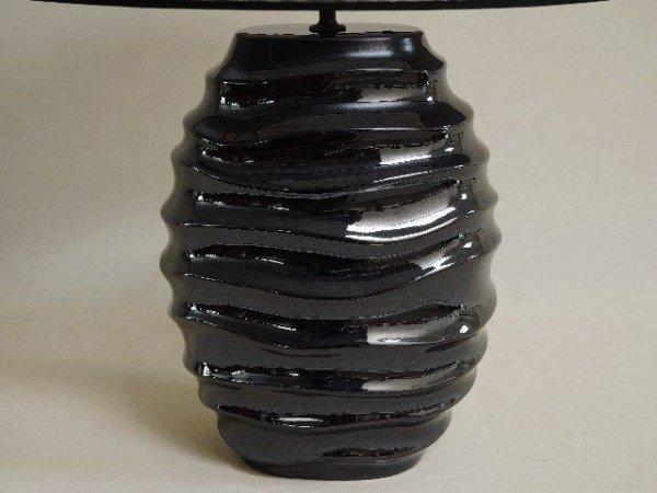 Lampa stołowa - Czarna - 45x61cm