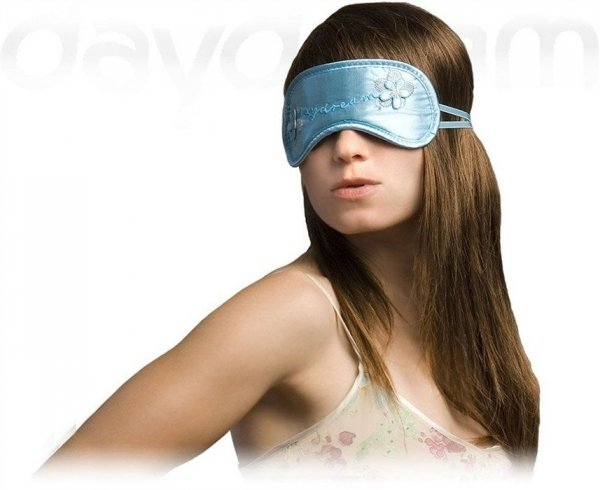 Opaska na Oczy - Daydream - Wzór Flower girl