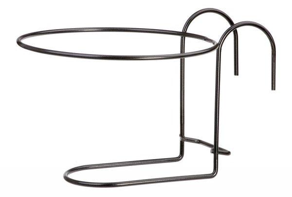 Kosz na doniczkę -  metalowy okrągły Fi 20
