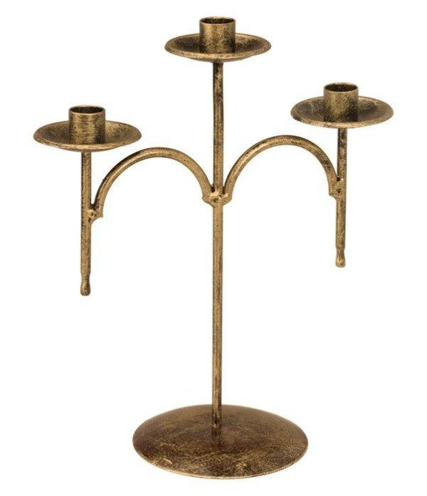 Metalowy świecznik do domu