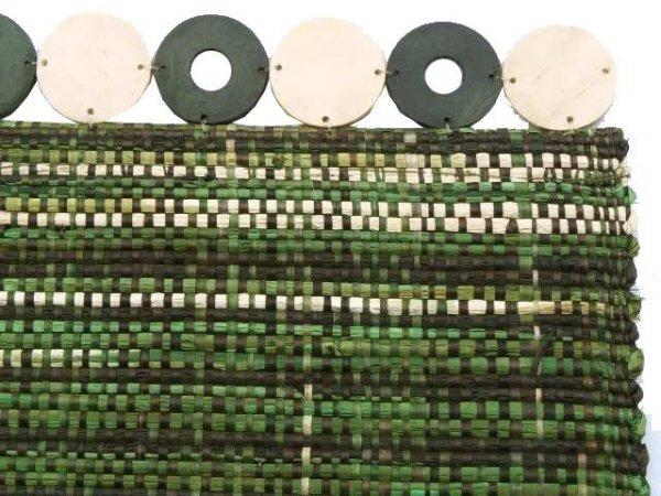 Podkładka na stół - Zieleń - Z raffi - 33x48cm