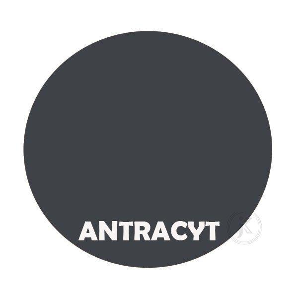 antracyt - Kolorystyka metalu - Kwietnik ścienny - Sklep DecoArt24.pl