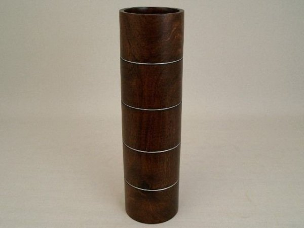 Wazon drewniany - Mango 13x45cm
