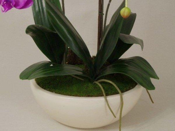 Sztuczny storczyk - Phalaenopsis - 46x75cm