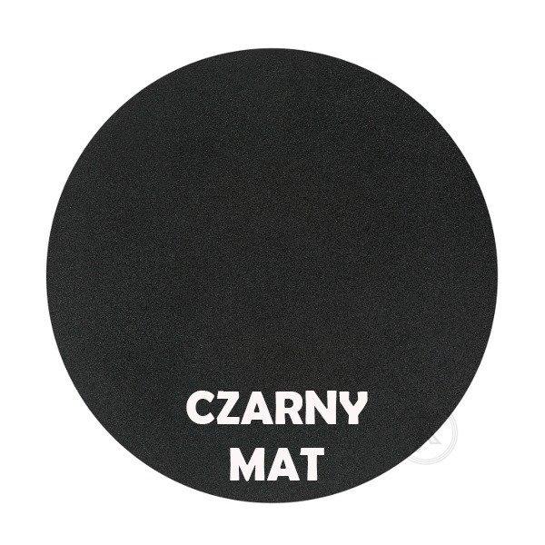 Czarny mat - Kolor kwietnika - Pingwin - DecoArt24.pl