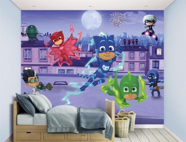 Fototapeta dla dzieci - Pidżamersi - 3D - Walltastic