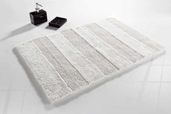 Dywanik łazienkowy - Biały - 50x80cm - Mocadesign