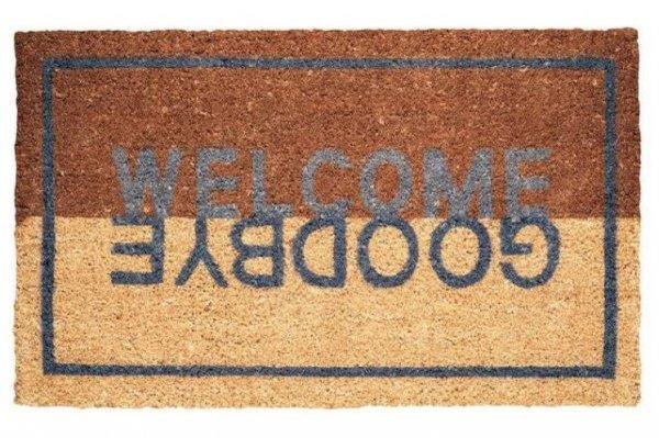 Wycieraczka wejściowa - Welcome Goodbye -  44 x 74 x 2 cm