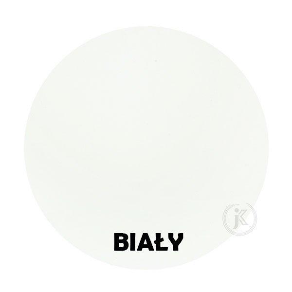 Biały - kolorystyka metalu - Kwietnik metalowy - Sklep Online