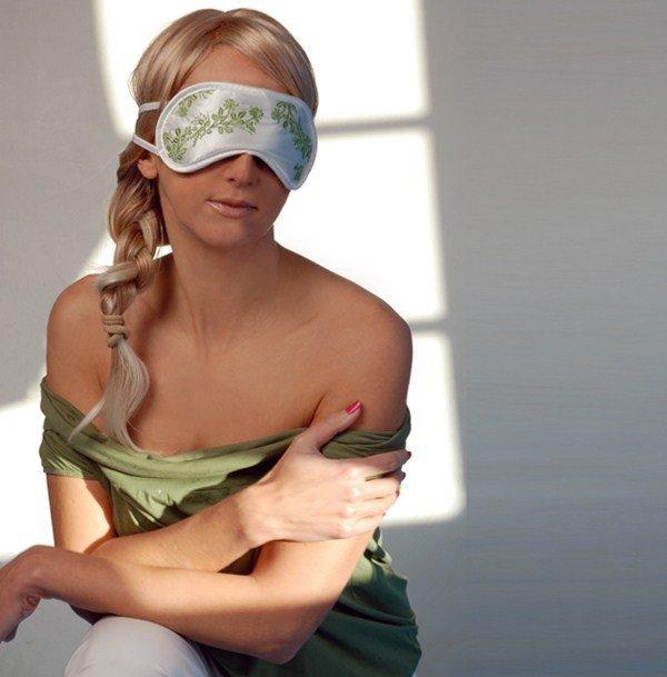Opaska na Oczy - Wzór Aloe Vera Ballance