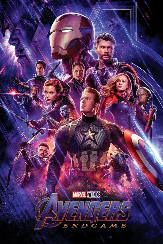 Plakat Z Filmu Avengers Endgame Journeys End