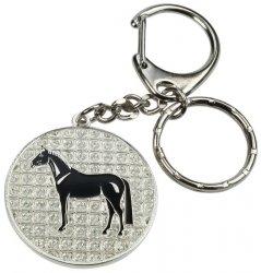 Breloczek HR Koń świecący z kryształkami
