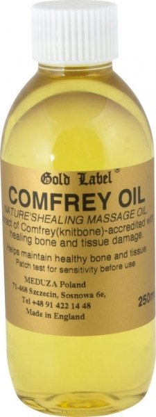 GOLD LABEL COMFREY OIL Olejek z żywokostu do wcierania