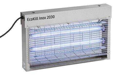 KERBL ECOKILL INOX Elektryczna Lampa Owadobójcza 2030