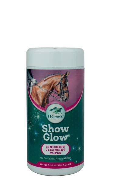 IV HORSE SHOW GLOW Chusteczki nabłyszczające 50szt  24H