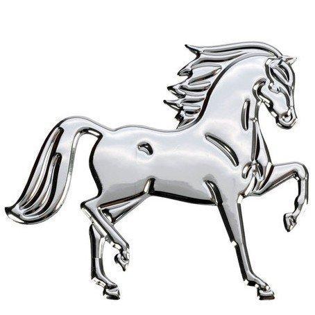 Naklejki HR metaliczne z końmi