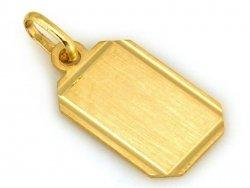Zawieszka Złota AU333 +Pudełko +GRAWER