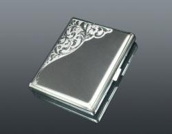 Papierośnica metalowa +GRAWER Na Prezent
