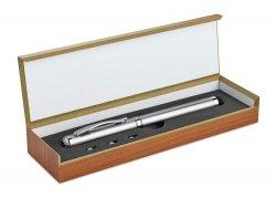 Długopis Wskaźnik Laserowy TouchPad Latarka +GRAWER
