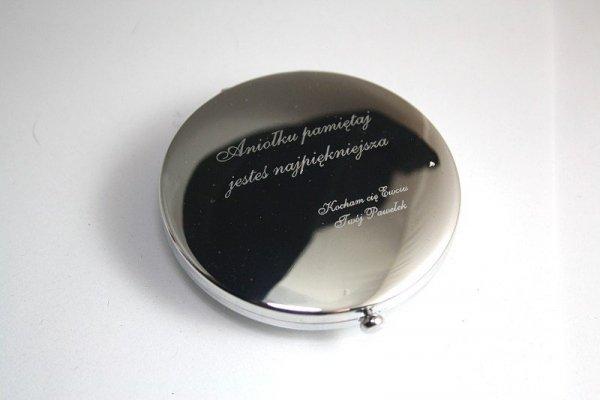 Lusterko Lustereczko VictoriaW GRAWER Dla Ukochanej