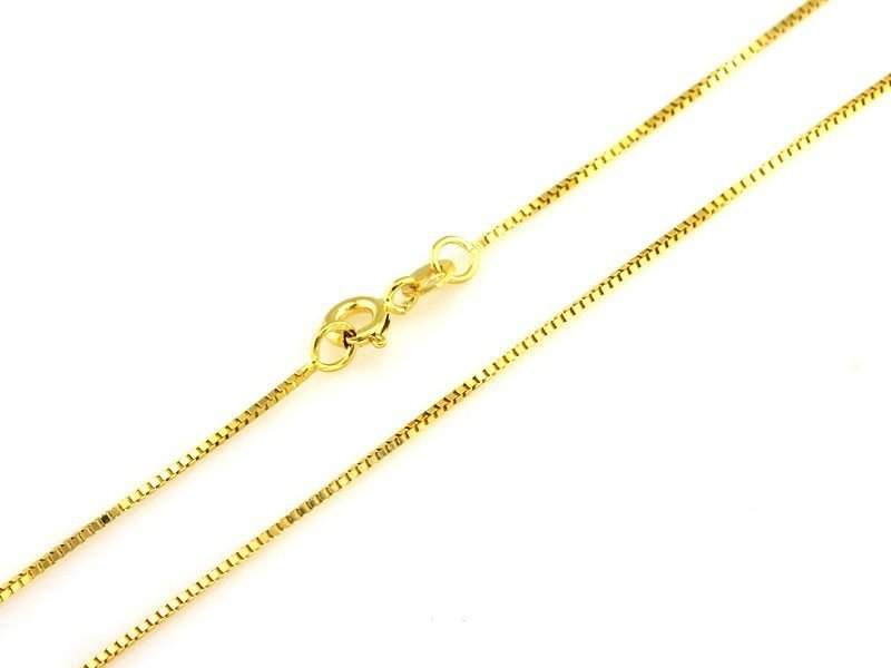 Złoty Łańcuszek AU333 45cm