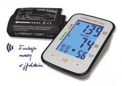 Ciśnieniomierz naramienny Kardio Test KTA K6 Comfort (funkcja mowy, wykrywania nadciśnienia, objawów arytmii, LCD) z zasilaczem