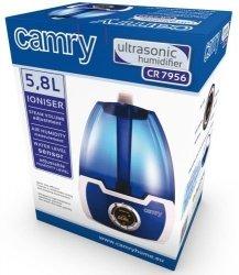 Nawilżacz powietrza Camry CR 7956   Jonizacja   1 filtr na wyposażeniu