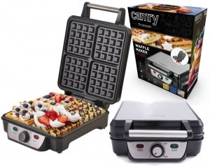 Gofrownica Camry CR 3025 | 1500 W | 4 gofry