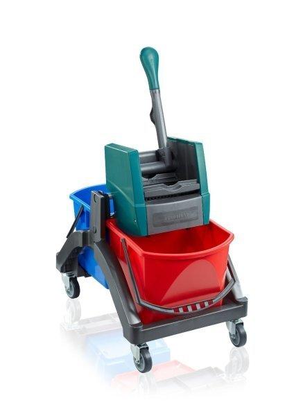 Profesjonalny wózek do sprzatania Leifheit Duo (Symbol: 59101) Seria Professional