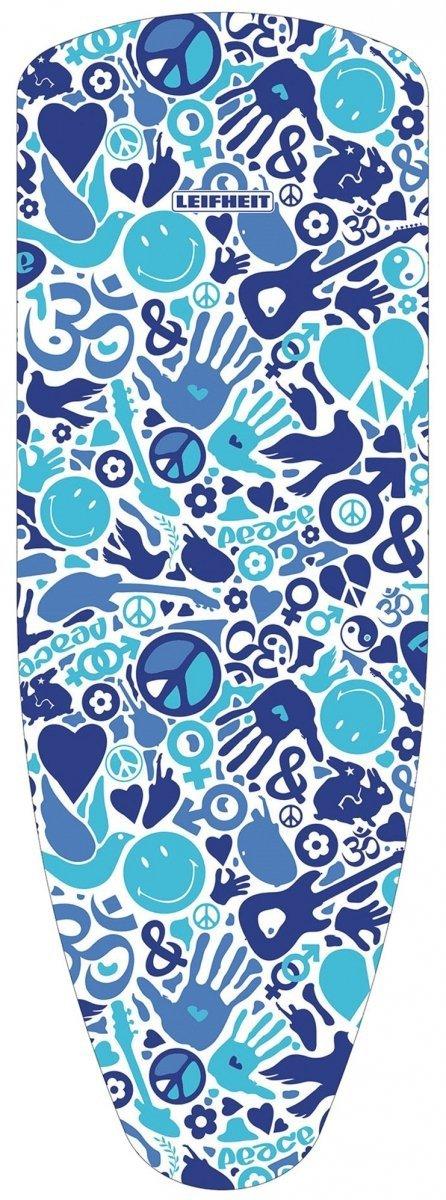 Pokrowiec Leifheit 72396 Cotton Classic UNIVERASAL | 140x45 | PEACE WIELOKOLOROWY