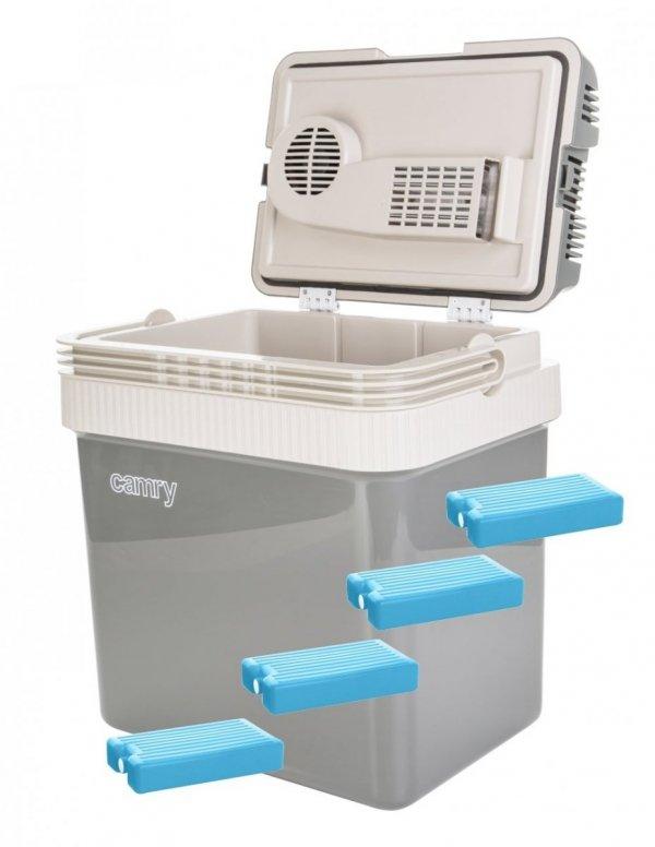 Lodówka turystyczna Camry 24 litry + wkłady chłodzące 1000ml   CR8065/4xW1000ML