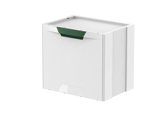 Pojemnik do segregacji śmieci kosz ECOCUBES Meliconi ZIELONY