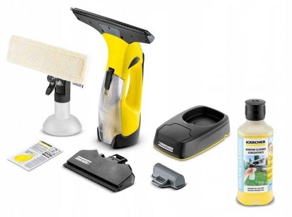 Kärcher ZESTAW myjka do okien WV5 Premium + 500 ml koncentratu środka do czyszczenia szkła RM503