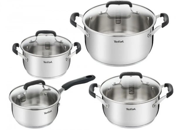 Garnki Tefal E493S8 74 COOK & COOL 8PCS