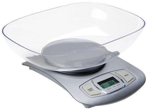 Elektroniczna waga kuchenna ADLER AD 3137 s (Silver/Srebrna)