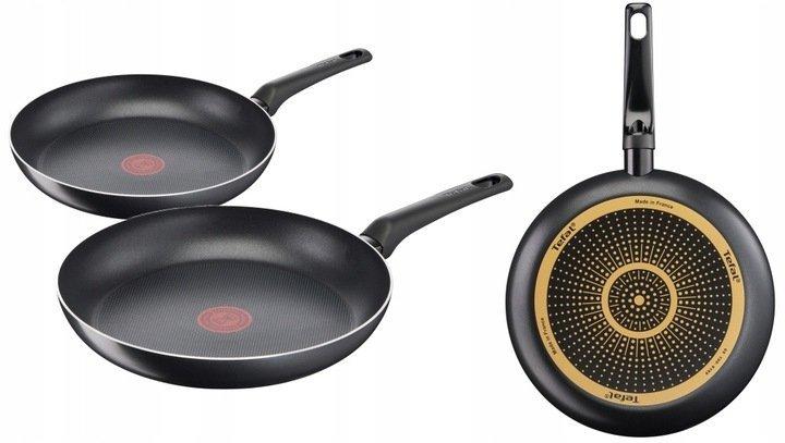 Patelnia 24/30 cm Tefal Simple Cook ZESTAW B55604/B55607